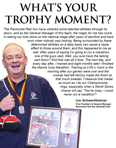 What's Your Trophy Moment?